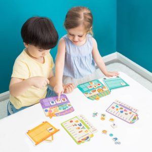Shopping List Board Game - Ages 3+