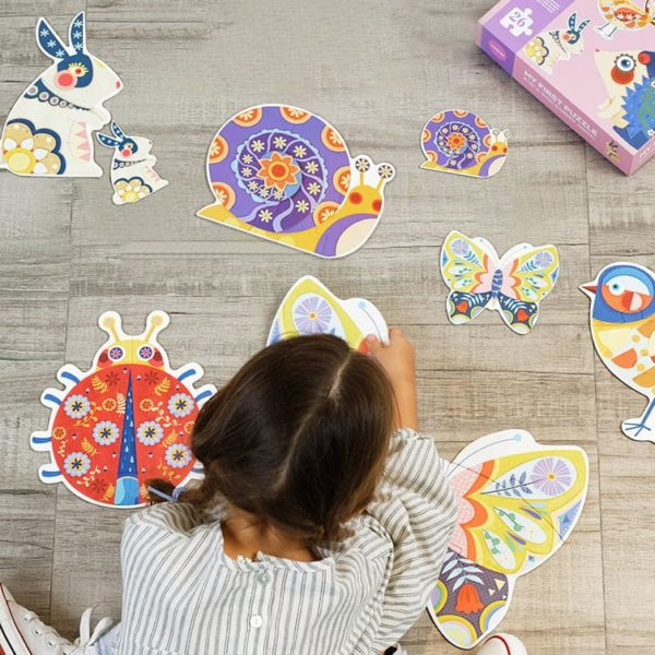 Mideer My First Puzzle - Garden Animal Kids Puzzle- 26 pcs