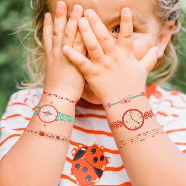 Watch & Bracelet Temporary Tattoo
