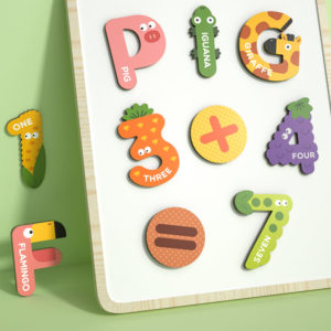 Mideer Number Magnets for Toddlers - 26 Pieces